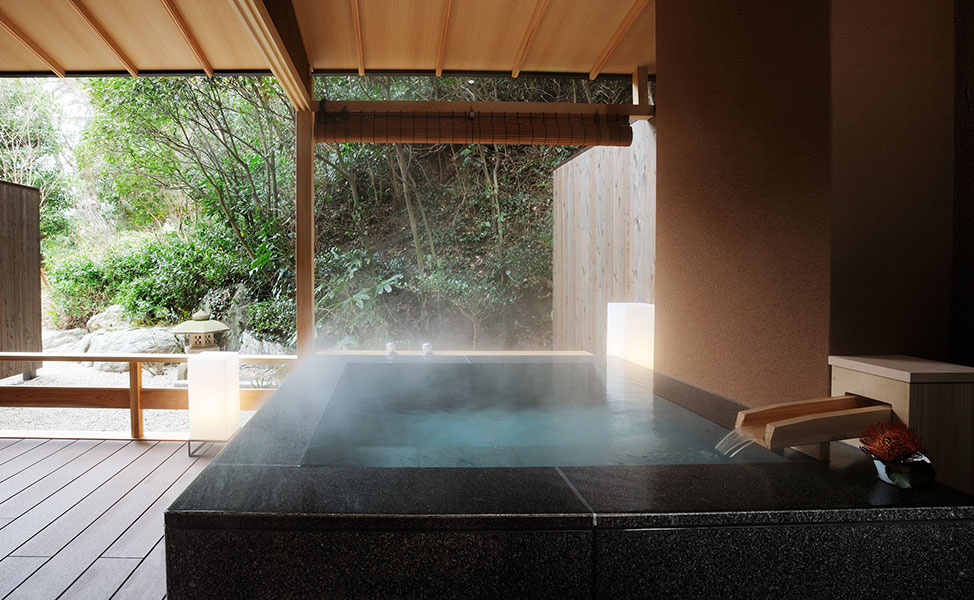 Morning Hinoki's Outdoor bath