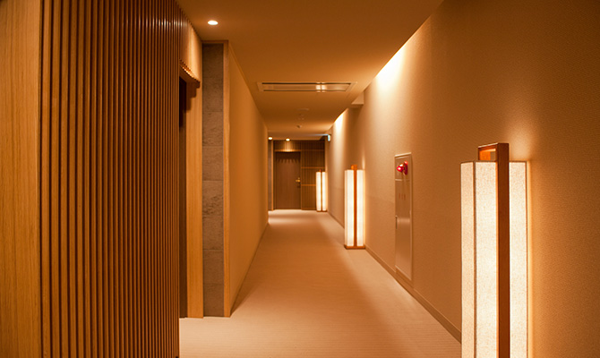 Hallway of the Private Area